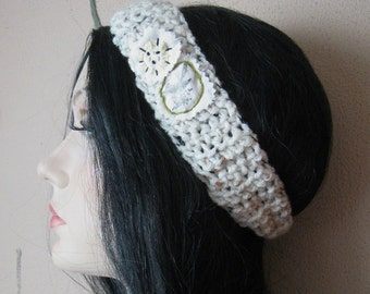 CROCHET BIRD HEADBAND