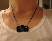 Vroom Vroom Willys Pickup Truck Necklace
