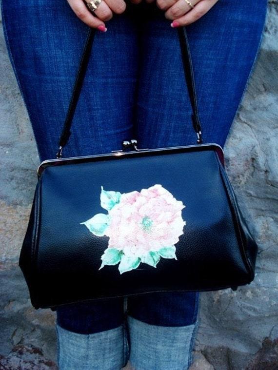 Black Handbag - Vintage