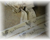 La Provence  Collection - French Country Hand Stamped Trim - French Rooster