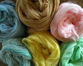 Newborn Photography Shoot Wrap Hand Dyed Cheese Cloth