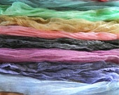 4 X 3 Feet Newborn Photo Wrap Hand Dyed Cheese Cloth Choose Your Color- 10  Colors Available