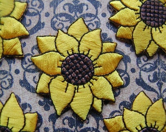 10 -  Sunflower Applique