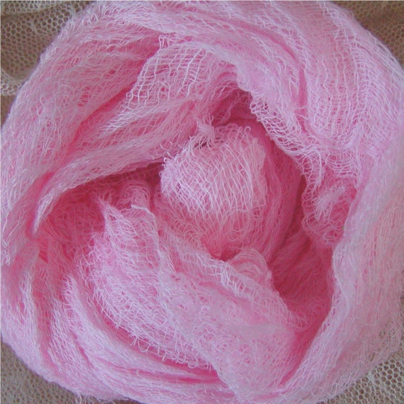 Cotton Cheesecloth  - Altered Art Supplies - Cotton Candy Pink (0495CCP)