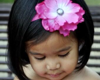 Baby Girls Headband-Newborn Headbands-Baby Photo Prop-Hair Bows-Back To School-Flower Headbands