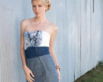 ORGANIC Hemp Denim Skirt