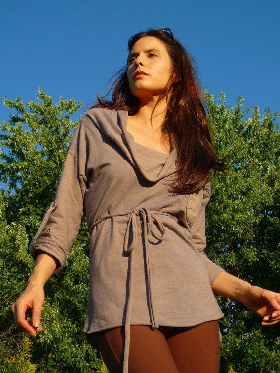 Pretty Birdie's Open Back Tunic (Hemp and Organic Cotton Jersey)
