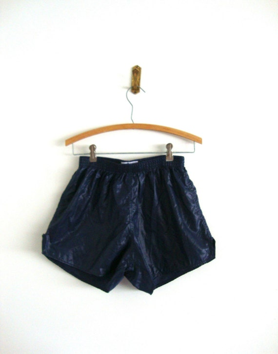 CLEARANCE.............Vintage Clothing Navy Mini Short from Pudding