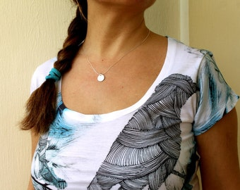 Simple Circle Small Size Necklace - Zen