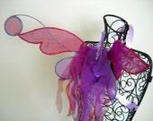 Magenta & Purple Fairy Wings