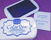 BLUEBERRY Color Box by Stephanie Barnard Dye Ink Pad