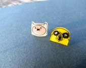 Finn and Jake Earrings