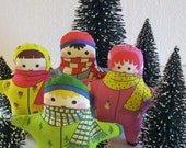 Snowsuits Doll Kit or Ornaments