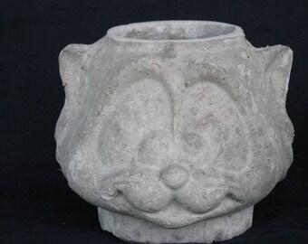 Unfinished paper mache Sylvester Cat Basket