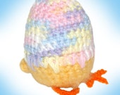 Squeak the Chick Amigurumi Crochet Pattern