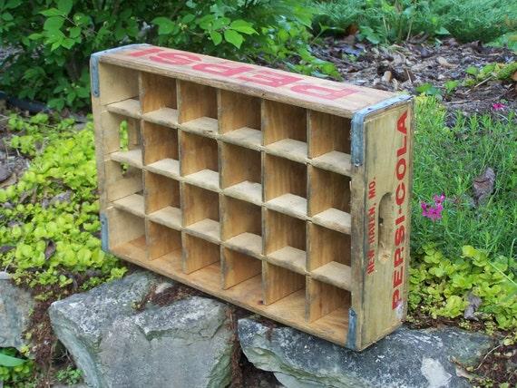 SALE - Vintage - Wooden Soda Crate