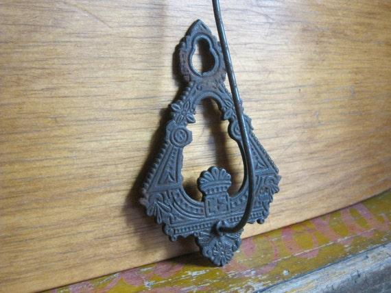 Antique - Metal Receipt Hook