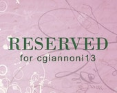 RESERVED FOR CGIANNONI13