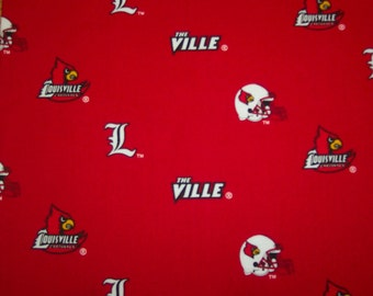 LOUISVILLE CARDINALS MICROWAVE Potato Bag, for microwave cooking, housewarming, birthday, holiday, gifts