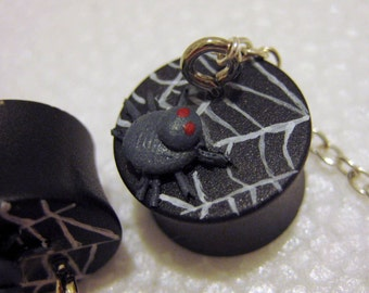 5/8inch 15.8mm Spider and Web Chain Resin Plugs