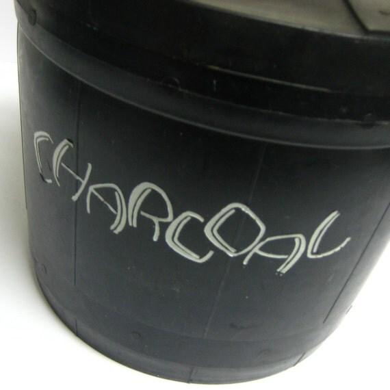 vintage charcoal bucket