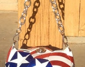 4th of July Soccer Ball Purse
