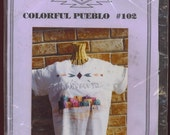 PUEBLO  IRON ON TRANSFER PATTERN  Sale 30 percent off regular price of five dollars