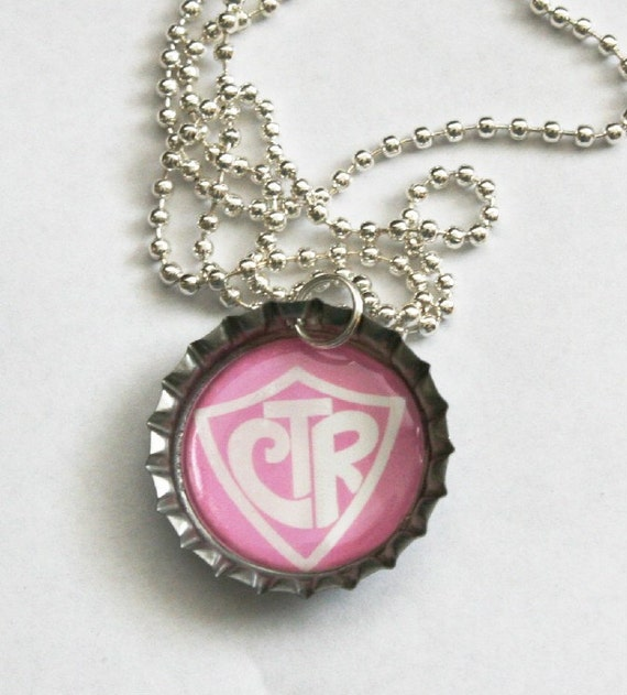 CTR bottlecap pendant RESERVED for Shellie