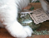 Organic Catnip for Love, Cat Magick and Silly Kitties . Featuring Gracie the Familiar . Fresh