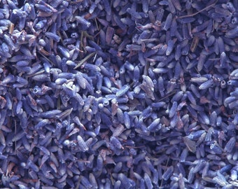 Organic Lavender Flowers . Herbal Alchemy . One Ounce . For Love, Peace, Purification, Protection
