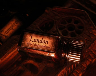 LONDON . Vampire All-Natural Artisan Perfume Oil by White Magick Alchemy .25oz