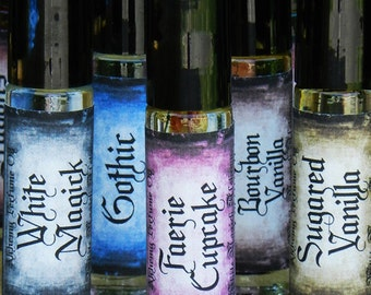 Faerie Cupcake . White Magick Alchemy Perfume Oil