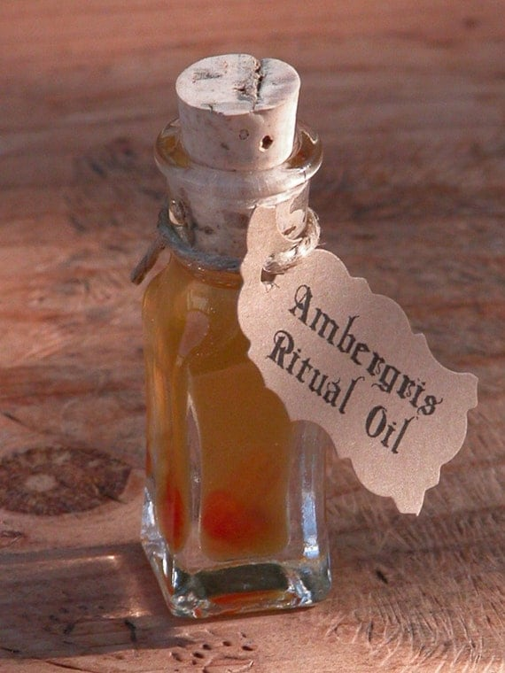 Ambergris Alchemist Tree Ritual Spell Perfume Oil . Witchcraft, Pagan, Wiccan, Magic