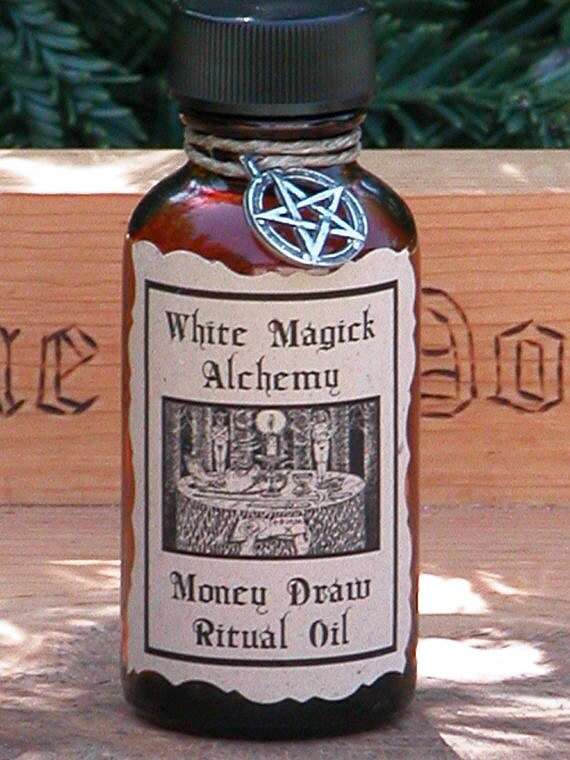 Money Draw Ritual/Natural Perfume Oil .5 - White Magick Alchemy . Vanquish Negative Influence Holding Back Positive Monetary Conditions