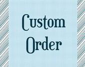 Custom Listing for kiddobadiddo
