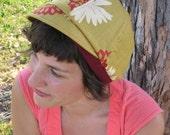 Mustard Hanachan Messenger Hat