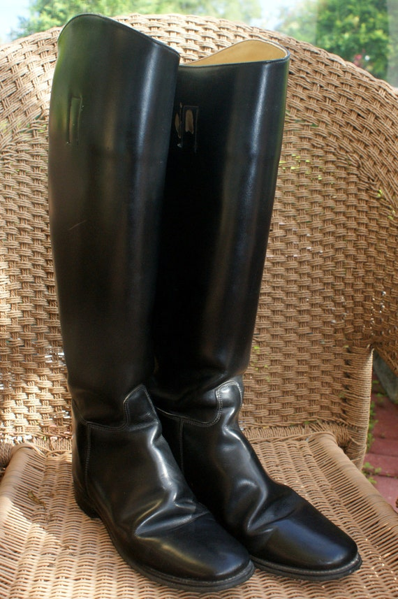 Marlborough Vintage English Equestrian Riding Boots UK Size 7