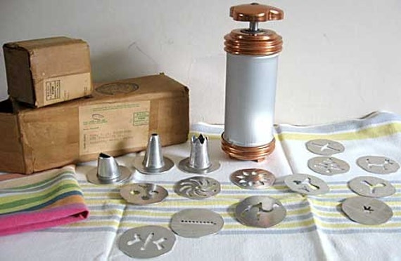 aluminum copper pastry cake decorating set new in the boxes 16 pcs