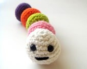 Colorful easter caterpiller