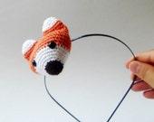 Foxs are walking on my mind headband