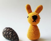 Easter Bunny Crocheted