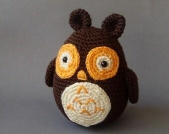 plush  owl toy, woodland  ,autumn ,halloween decoration,kids toy,plush owl, owl toy,soft toy,waldrof toy,