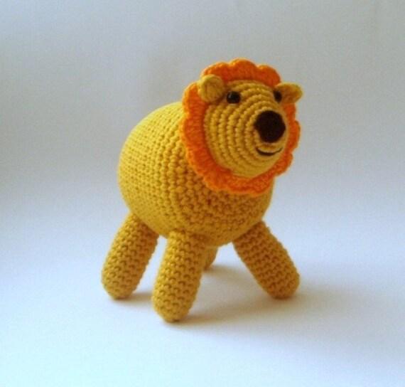 Lion King Amigurumi : Natural Kid friendly Crocheted Amigurumi Lion by sabahnur ...