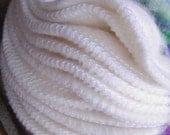 Bamboo Fleece Alternative to Disposable Facial Poufs - 12 Fleece Rounds Plus BONUS Wash Bag