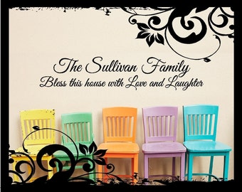 Family Wall Art (large) - Vinyl Decal