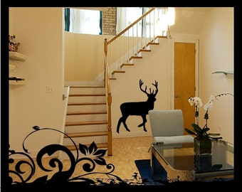 Large Buck - Vinyl Decal