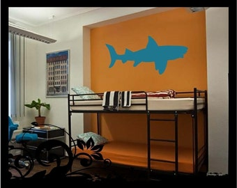 4' Shark Sihouette - Vinyl Decal