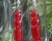 Orange Earrings  E80
