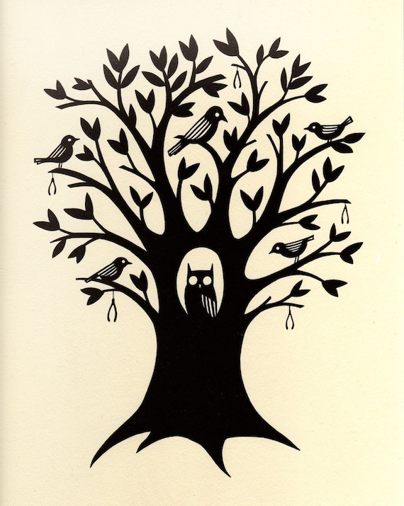 RESERVED FOR JACKIE: The Wishbone Tree Print