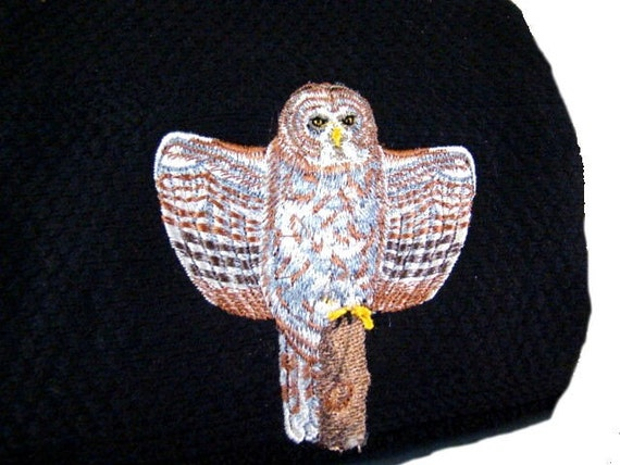 Owl towel - Great Grey Owl